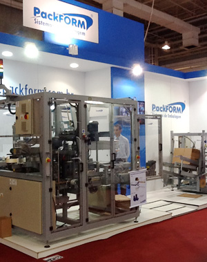 Estande PackFORM FCE Pharma 2013
