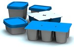 Plastic Trays and Containers