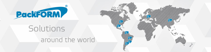 PackFORM Solutions around the world